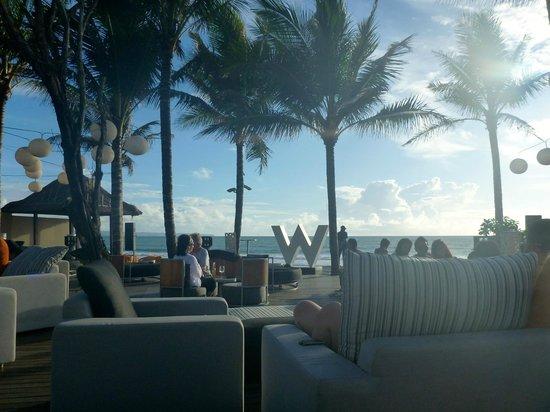 W Retreat & Spa Bali - Seminyak:                                     beach