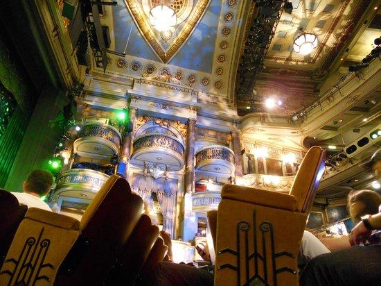 Theatre Royal Drury Lane:                   inside
