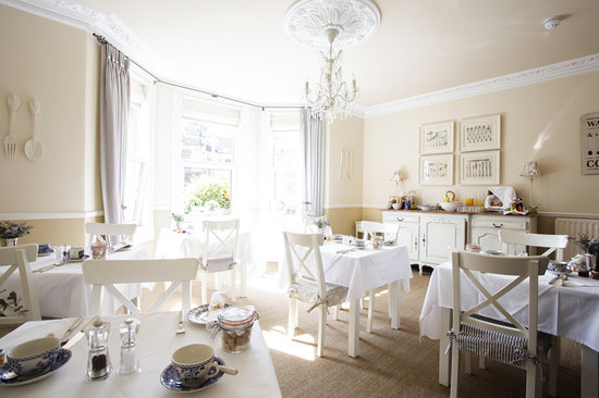 Brindleys Boutique Bed & Breakfast Hotel: The Breakfast room