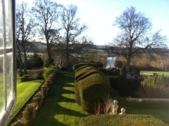 Danesfield House Hotel And Spa:                   view from junior suite window
