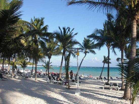 """Barcelo Maya Caribe: Back beach """"Maya Beach"""""""