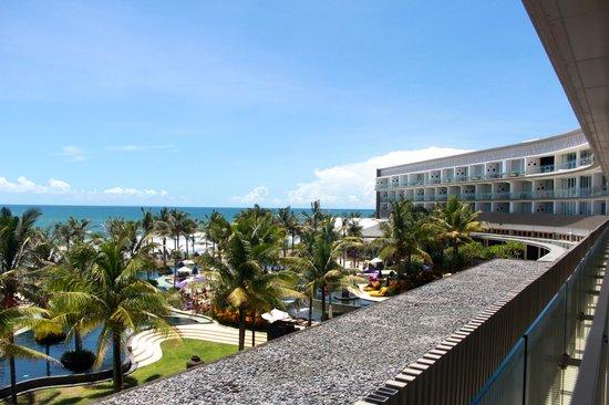 W Retreat & Spa Bali - Seminyak:                                     view from ocean glimpse room