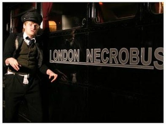 The Ghost Bus Tours - London: Conductor