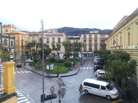 La Piazzetta:                   window view