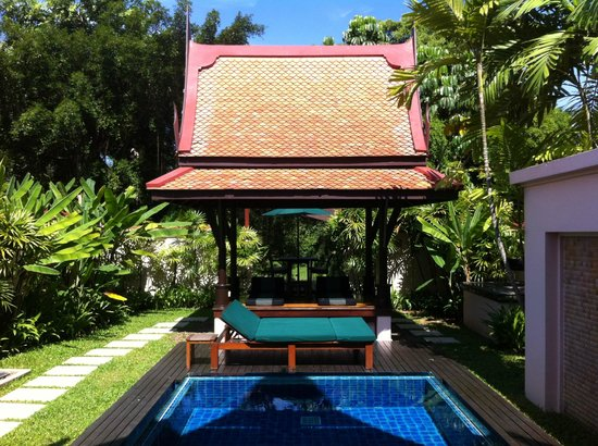 Banyan Tree Phuket:                   Pool in Villa