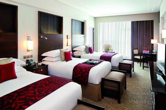 Makkah Clock Royal Tower, A Fairmont Hotel: Triple-bed room perfect for families and groups.