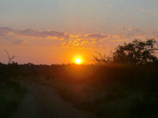 Rhulani Safari Lodge:                   Sunrise!