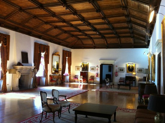"Pousada Mosteiro Guimarães:                   One of the living rooms - ""Sala do Capítulo"""