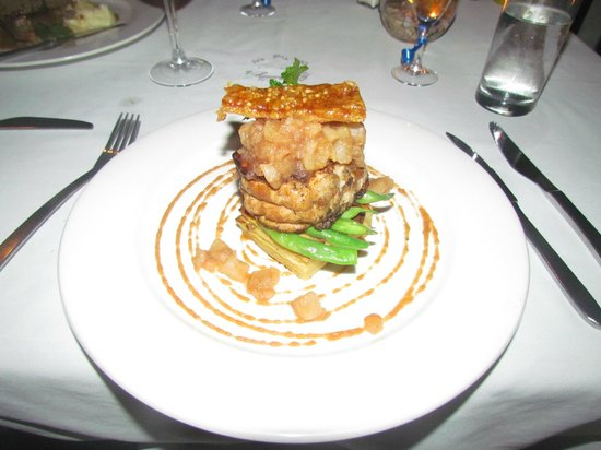 Chantilly's on the Bay: Double cooked pork belly