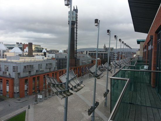 Maldron Hotel Smithfield:                   View from balcony