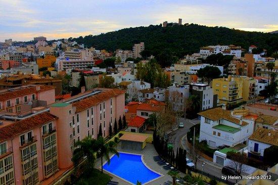 Hotel Isla Mallorca & Spa : View from balcony