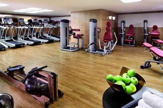 Makkah Clock Royal Tower, A Fairmont Hotel: The Fitness Center with personal trainers