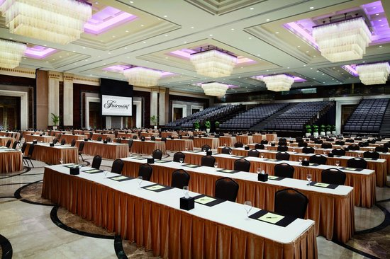 Makkah Clock Royal Tower, A Fairmont Hotel: Al Jiwar ballroom can host up to 2000 people.