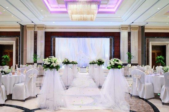 Makkah Clock Royal Tower, A Fairmont Hotel : A wedding reception in Al Jiwar ballroom