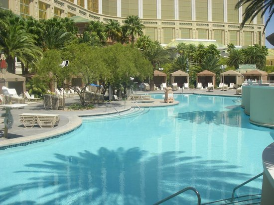 Mandalay Bay Resort & Casino:                   Poollandschaft