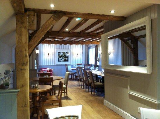 The Akeman Inn:                                     Dining area