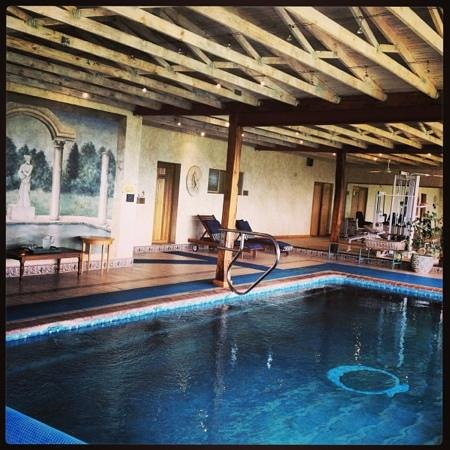 Coach House Hotel & Spa:                   spa pool