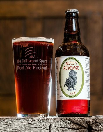The Driftwood Spars B & B: Our infamous brew supreme champion beer of Great Britain 2012
