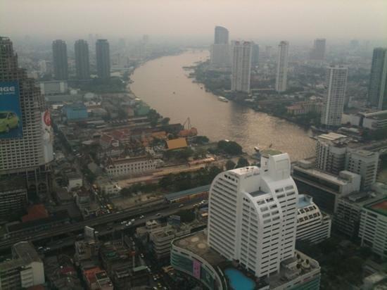 lebua at State Tower: vue de notre chambre au 51e étage