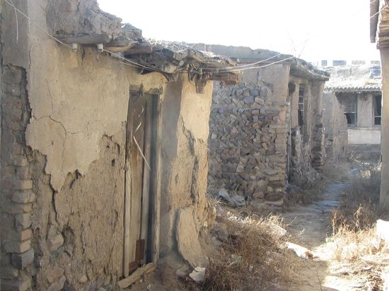 Jimingyi Post House :                                     entire alley is lost for ever