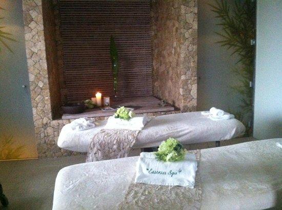 Misibis Bay Resort:                   spa