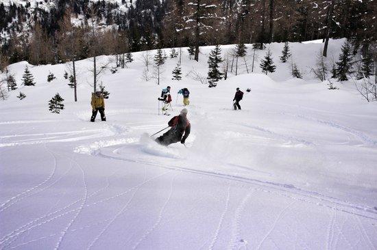 BlackRock Ski Lodge : Skiing in the valley!