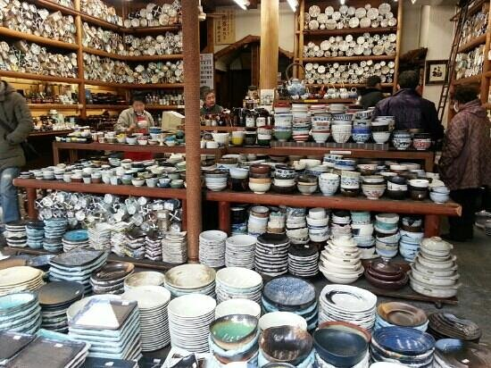 Kitchen Town (Kappabashi):                                     i wanted to buy it all
