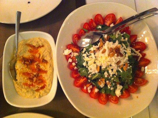Tria Elegance Istanbul:                   Salad and Humus