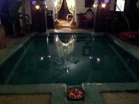Dar Abiad:                   The beautiful plunge pool