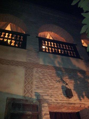Dar Abiad :                   Lounge Area of Chocolat Suite