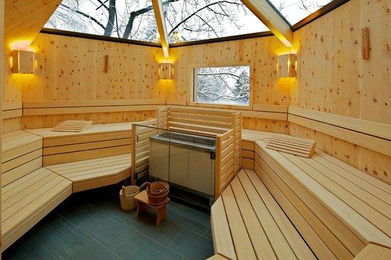 Hotel Die Post: Baumhaus Sauna