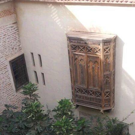 Dar Abiad:                   The Berber bath is in this window - its fabbbbb