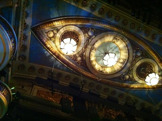 Theatre Royal Drury Lane: The incredible ceiling!