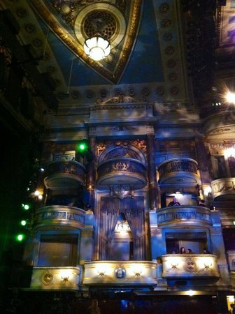 Theatre Royal Drury Lane: The boxes - all with beautiful detail