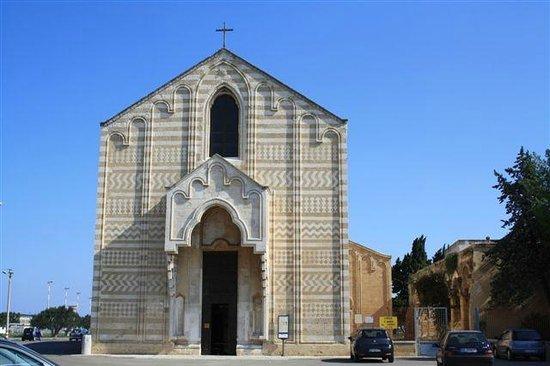 Brindisi, Italien:                                                       facciata