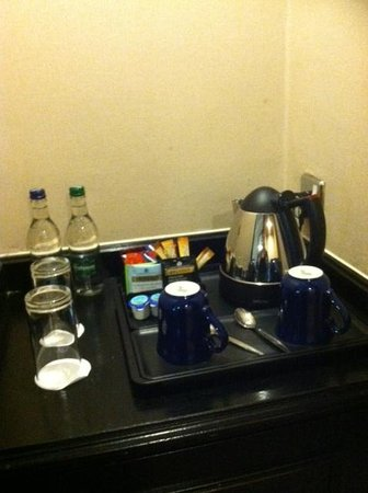 Hilton Manchester Airport: Tea and Coffee