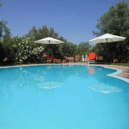 Dar Achorafa: piscine et terrasses