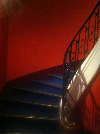 Villathena:                   stairs