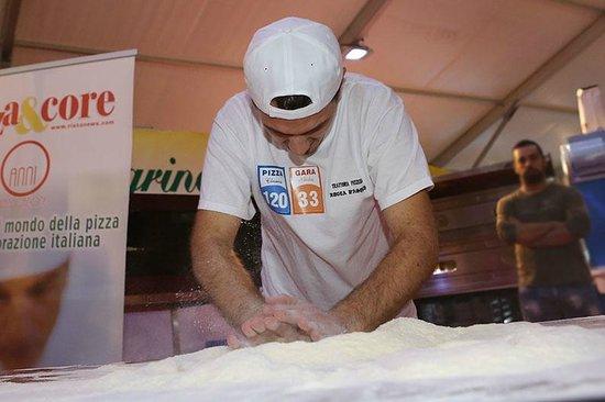 Rocca d'Asolo: PRIMO CLASSIFICATO, gara di abilità-pizza veloce
