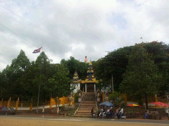 Pailin, Καμπότζη:                                     Wat Phnom Yant