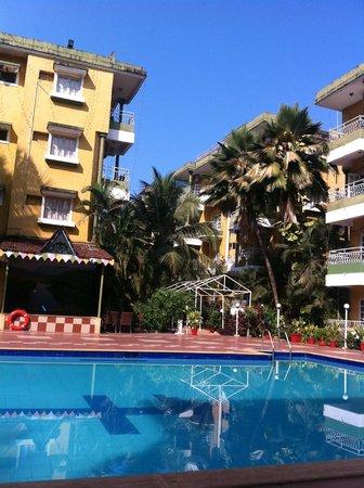 Nizmar Resort:                   pool view