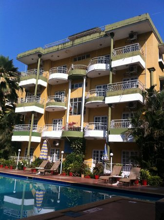 Nizmar Resort:                   pool view frm ur room