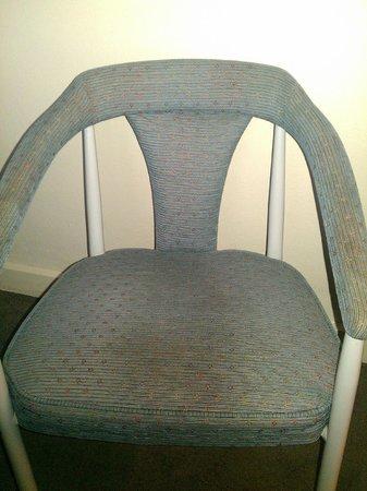 فورست هوتل آند أبارتمينتس:                   Another stain on a different chair                 