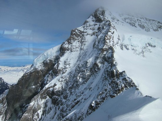 Eiger Selfness Hotel:                                     View from our apartment window was amazing!