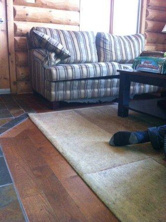 Blueberry Lake Resort:                                     Fauteuils endommagés