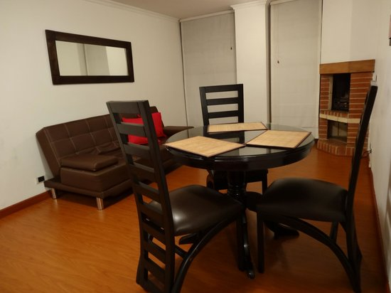 Arlington Place: Two bedroom apartment / Dining and Living room