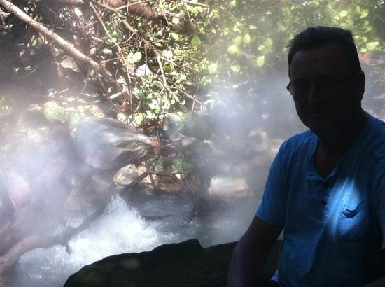 El Sol Verde Lodge & Campground:                   volcanic steam!