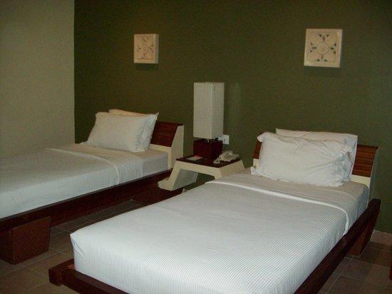Mutiara Bali Boutique Resort & Villas:                   spacious room even with twin beds                 