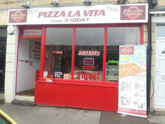 Pizza La Vita Bath Menu Prices Restaurant Reviews