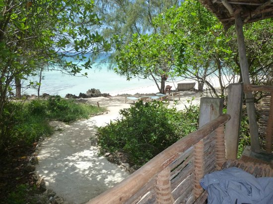Chumbe Island Coral Park: view bungalow 7